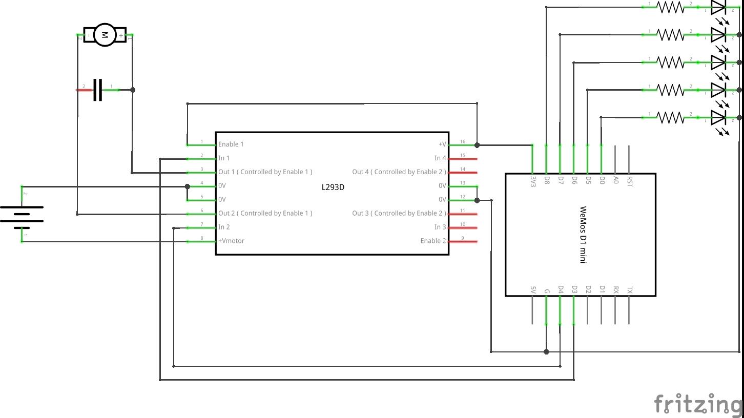 Circuit schematic.