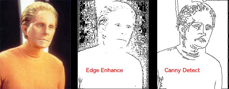 Edge detection options