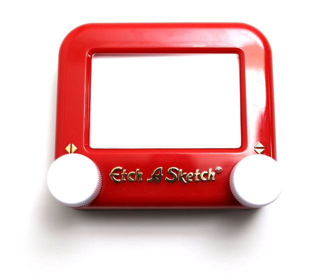 Pocket Etch-A-Sketch